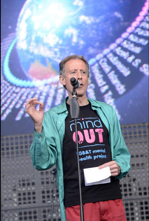 Brighton Pride, Peter Tatchell